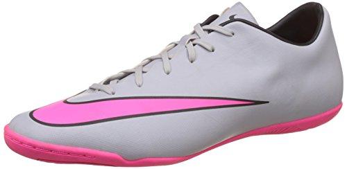 Nike Herren Mercurial Victory V Ic Futsalschuhe, Grau (Wolf Grey/Hyper Pink-Black-Black 060), 42.5 EU