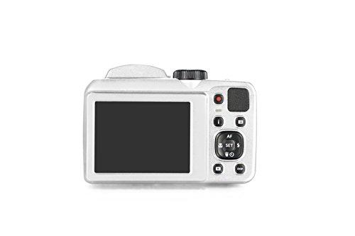 "Kodak PIXPRO AZ252 Point & Shoot Digital Camera with 3"" LCD, White"