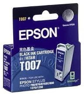 Epson T007 Black Ink Cartridge, C13T007401