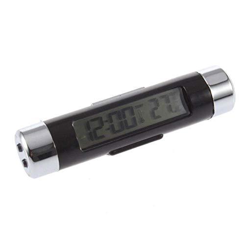 Fried Práctico Coche LCD Retroiluminación Digital Termómetro automotriz Calendario de Calendario Acouterment Detectar