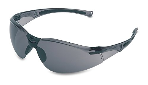 Honeywell 1015368 A800 Sporty Safety Eyewear Frame with TSR Anti-Scratch Lens - Grey