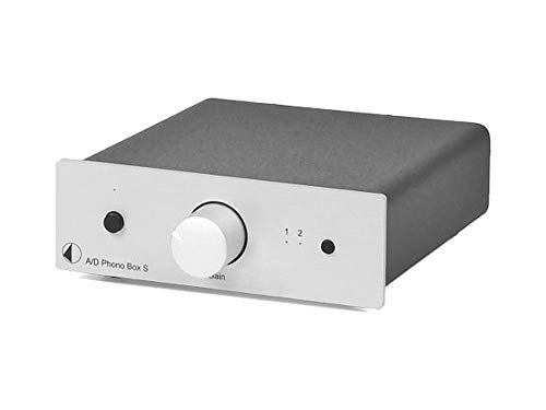 Pro-Ject A/D Phono Box S (Silber)