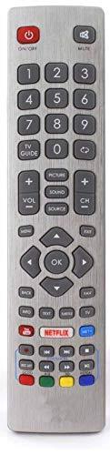 BELIFE® Ersatz Fernbedienung passend für Sharp TV Fernseher LC-55UI7252E | LC-55UI7352E | LC-55UI7352K | LC-55UI7552E