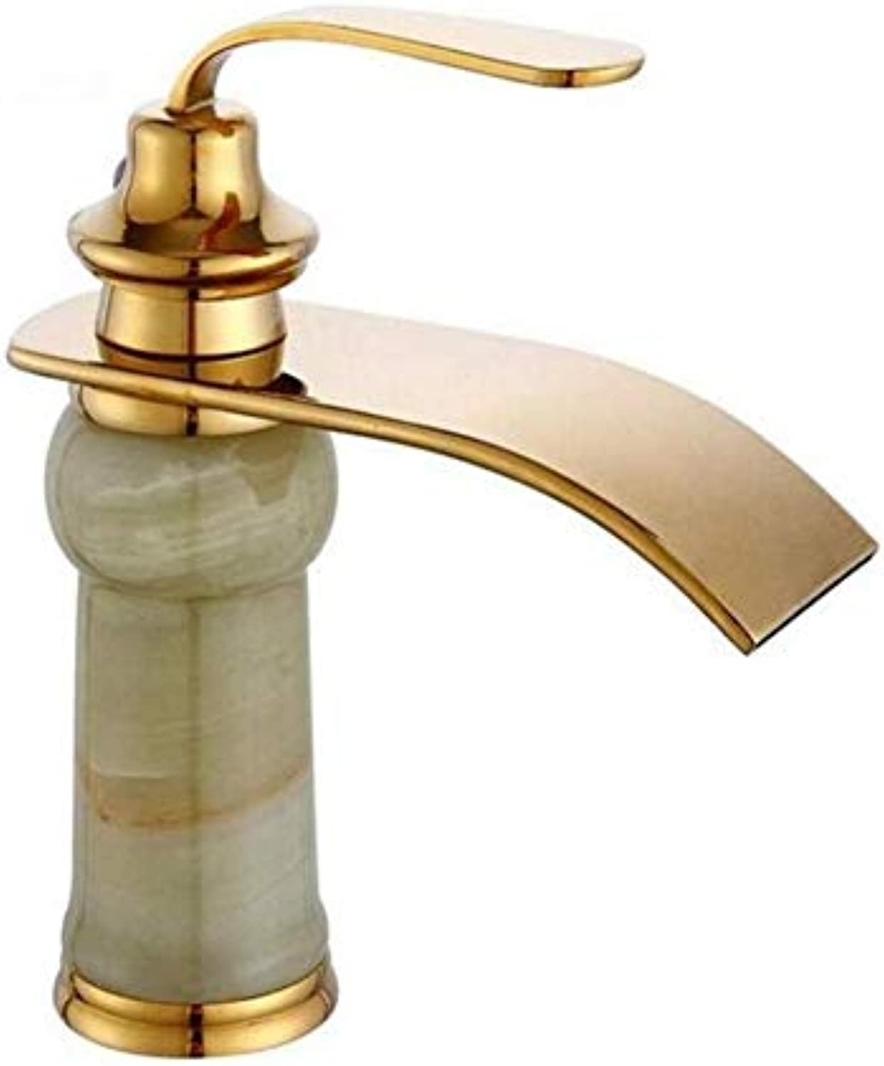 Chrome Vintage Brass Modern Hot and Cold Watermarble Basin Mixer Copper Hot and Cold gold Faucet Antique Washbasin