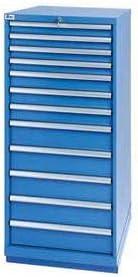Lista 12 Drawer Standard Ranking TOP4 Max 60% OFF Width Cabinet Master Bright - Key Blue