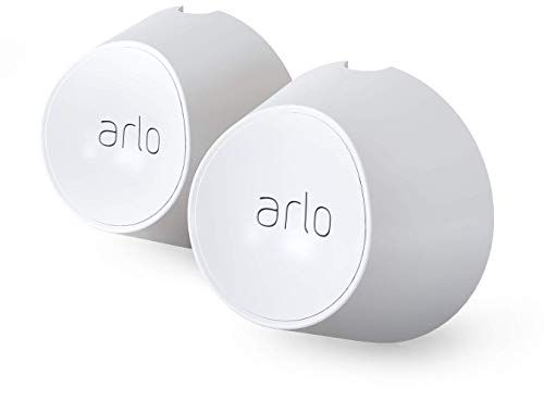Arlo Certified Accessory - Magnetic Wall Mounts - Set of 2, Indoor or Outdoor Use, Compatible with Arlo Ultra, Ultra 2, Pro 3, and Pro 4 Cameras White - VMA5000