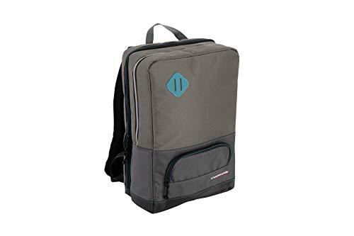 Campingaz Office Backpack, Mochila, refrigera hasta 16 Horas, Espacio para 6 Botellas de 1,5l, Nevera portatil con Aislamiento, para el Trabajo, Las Compras o la Playa, Unisex-Adult, Gris, 16 L