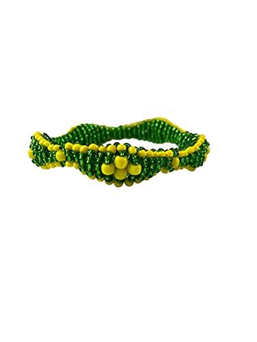 Orula Ilde Bracelet | Orula IDE Elastico | Orula IDE Caiman | Orula Beaded Bracelets | Unisize Elastic Santeria Ifa Bracelets