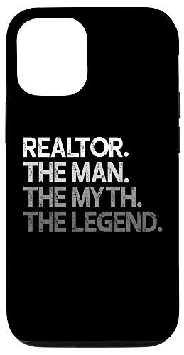 iPhone 12/12 Pro Realtor The Man Myth Legend Gift Case