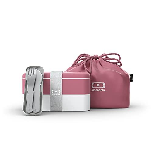 monbento - Lunch box set rosa Blush -...