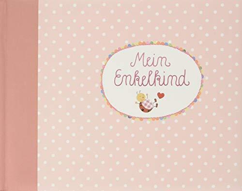 Eintragalbum - BabyGlück - Mein Enkelkind (rosa) (Alben & Geschenke fürs Baby)