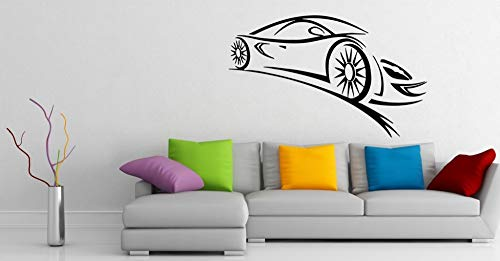 Muursticker Vinyl Sticker Formule 1 Racing Sport Auto Thuis Decor Jongen Kamer Raam Art DIY Mural Wallpaper Poster 57X93Cm