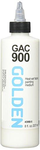 Golden Acrylic Medium: 236ml. CAG 900 Polímero Acrílico para Artistas de Prendas de Vestir