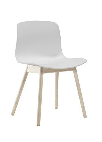 HAY - About a Chair AAC 12 - weiß - Eiche geseift - HEE Welling & Hay - Design - Esszimmerstuhl - Speisezimmerstuhl