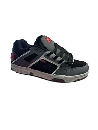Dvs Footwear Herren Skateschuh Comanche, Grau (Schwarz Kohlegrau Rot), 44 EU