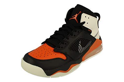 Nike Air Jordan Mars 270 Mens Basketball Trainers CD7070 Sneakers Shoes (UK 9.5 US 10.5 EU 44.5, Black Reflect Silver 008)