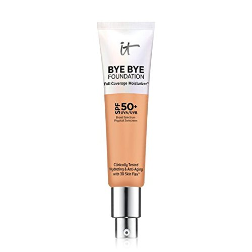IT COSMETICS Bye Bye Foundation Full Coverage Moisturizer with SPF 50+ (Neutral Tan)