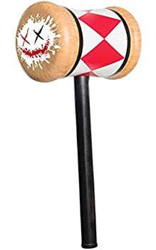 Rubie s Women s Suicide Squad Harley Quinn Mallet As Shown One Size