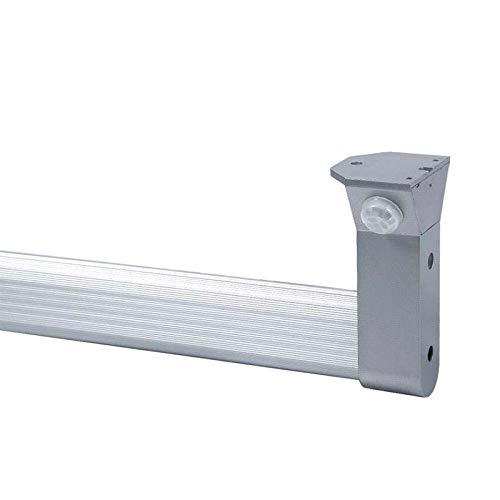 LOCKER KIT barra con luz Led de 100cm para armarios con sensor de movimiento, Blanco neutro