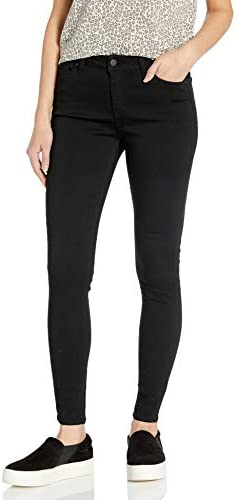 Celebrity Pink Jeans Women s Infinite Stretch Short Inseam Skinny Jeans Black Rinse 17 product image