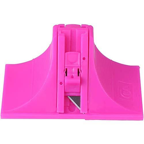 Montage Schneider, Bidirectionele karton nauwkeurige montage Schneider met 45- en 90-graden blade,Pink