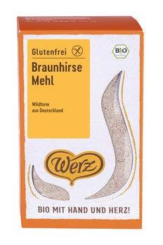 Werz Bio Braunhirsemehl glutenfrei (2 x 500 gr)