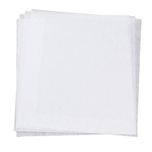 oshhni 5 Blatt T Shirt Stoff Transferpapiere Wasserlösliche Stickerei - Transfer Papier