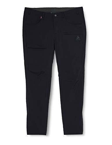 Odlo Pants Solitude Pantalon Femme, Noir, 44