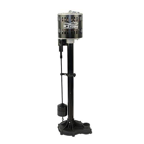 K2 Pumps SPP03301K 1/3 HP Thermoplastic Pedestal Sump Pump