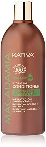 Kativa Macadamia Après-shampooing sans sel ni sulfates 500 ml