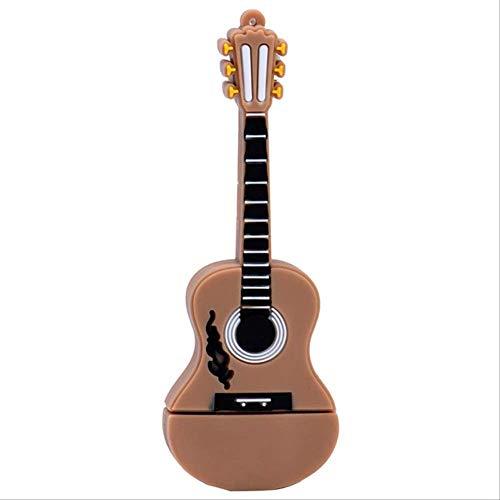 USB Memory Stick sleutelhanger cadeau stijlvolle Cartoon schattig instrument Flash Drive Usb gitaar toetsenbord viool duim 4GB T2