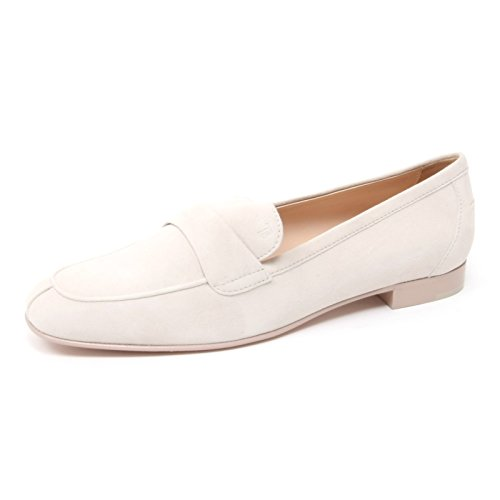 Tod's B4371 Mocassino Donna Scarpa Panna Shoe Loafer Woman [36.5]