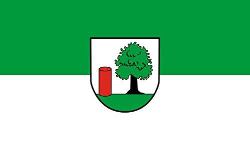 Unbekannt magFlags Tisch-Fahne/Tisch-Flagge: Gaiberg 15x25cm inkl. Tisch-Ständer