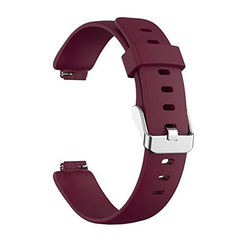 GYY Nueva Correa de Silicona Suave de reemplazo para Inspire-2 Watch Band Smart Watch Band Banda de Pulsera clásica Correa de Pulsera Grande (Color : We)