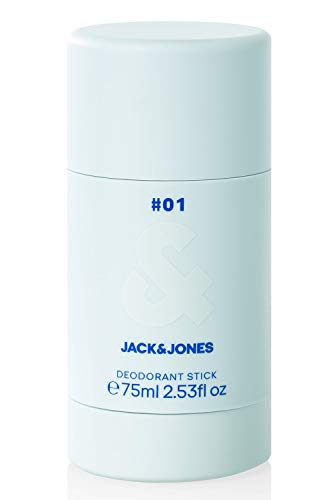 Jack & Jones Herren Deostick Herrenduft Deodorant 75ml (One Size/75ml, White/#01)