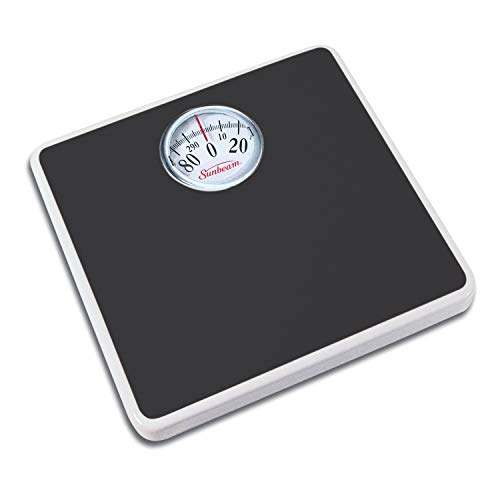 Sunbeam Easy Read Dial Scale, Black
