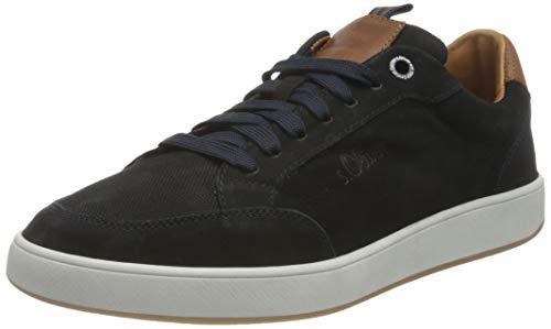 s.Oliver Herren 5-5-13607-26 Sneaker, Navy, 44 EU