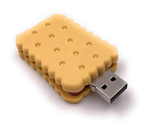Onlineworld2013 Biscuit Pastry Nibble Biscuit Chocolate Funny USB Stick 16 GB USB 3.0