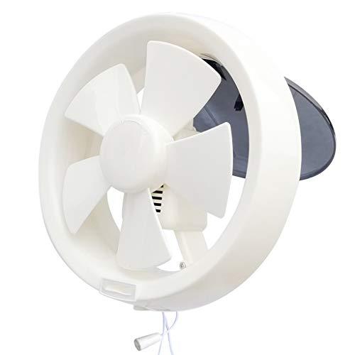 QIQIDEDIAN Ventilador de Escape 8 Pulgadas Ventilador de ventilación Cuarto de baño pequeño Extractor Potente y silencioso Extractor silencioso baño doméstico Ronda