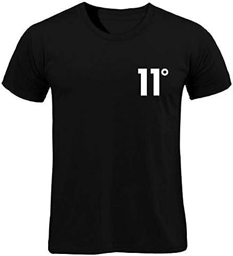 YKDDJJ T-Shirt en Coton Blanc à Manches Courtes T-Shirt en Coton d'été à Manches Courtes, imprimé été Blanc, Robe MultiCouleure XXL NOIR-B110X