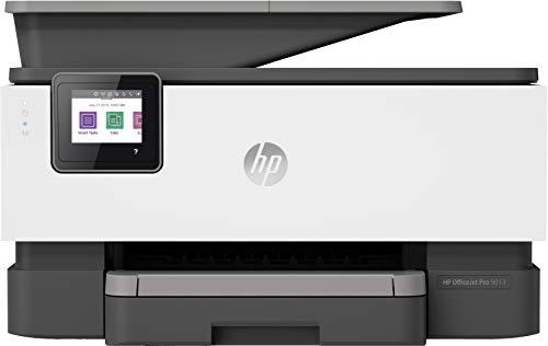 HP OfficeJet Pro 9013 Thermo-Tintenstrahldrucker 22 ppm 4800 x 1200 dpi A4 WiFi - Multifunktionsdrucker (Thermo Inkjet, 4800 x 1200 dpi, 250 Blatt, A4, Direktdruck, Schwarz, Grün)