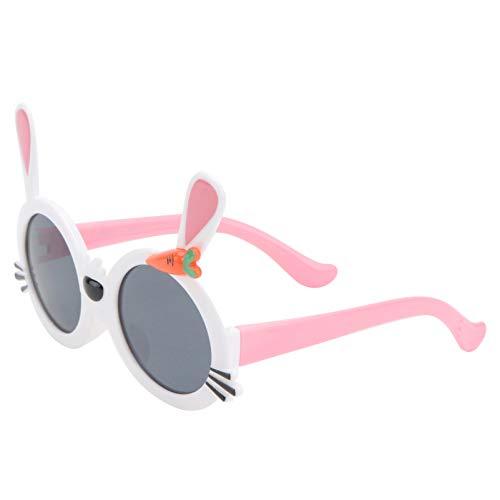ABOOFAN Gafas de Sol de Oreja de Conejo de Pascua Gafas de Oreja de Conejo de Dibujos Animados Niños Creativos Vestir Gafas de Fiesta de Pascua Foto Prop Favores de Fiesta