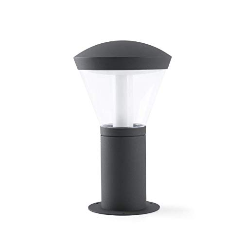 FARO BARCELONA 75537 Shelby LED Lampe Balise Gris foncé h 32.5cm