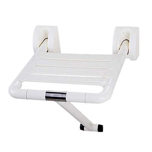 XHCP Halterung Wandhalterung Klappbarer Duschsitz mit Lattenrost 300lb Kapazität für Senioren, behinderte, medizinische Verwendung Faltbarer Badezimmerhocker Klappba