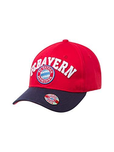 FC Bayern München Kinder Baseballcap Fan rot