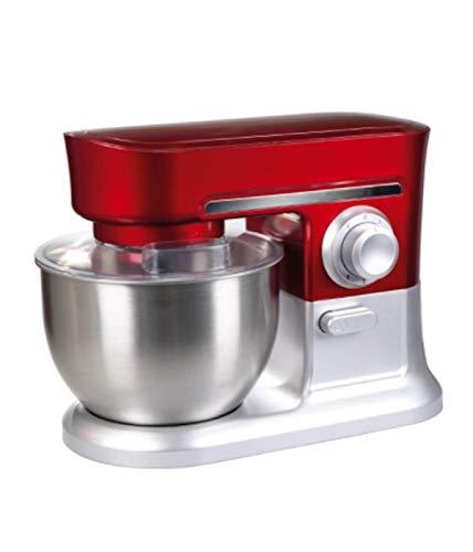 OHMEX OHM-SMX-3621 Küchenmaschine mit Halterung, multifunktional, 700 W, Kapazität 4 l, sehr leise und stabil, Sicherheitsverriegelungssystem