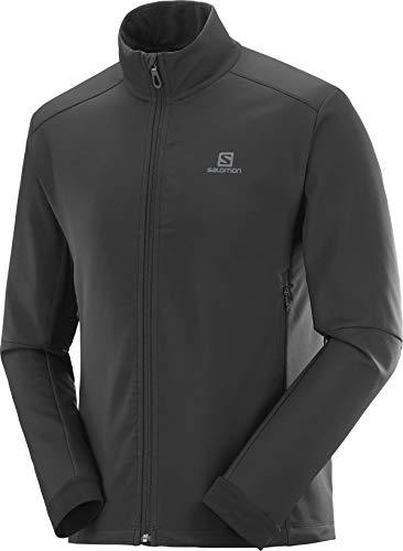 Salomon Herren Standard Agile Softshell Jacke, Schwarz, XL