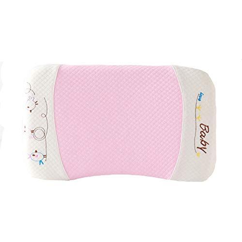 Almohada con memoria para recién nacidos, forma de cabeza con forma, protección de ranura, suave y cómoda, adecuada para bebés y niños pequeños
