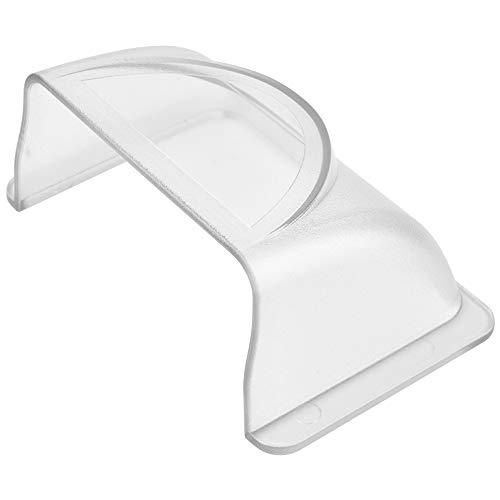 Hakeeta Extra Harter 4mm Regenschutz für Türzugang/Türklingel/Türklingel, wasserdicht, explosionsgeschützt, Sonnenschutz, UV-Schutz Maschinenschutz
