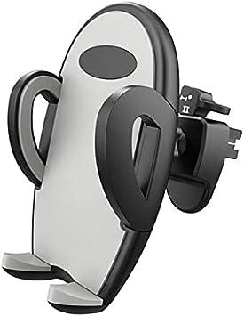 Fangaichen Adecuado para Faros Soporte de teléfono móvil de Coche Soporte de ventilación de Aire (Color : Gray)